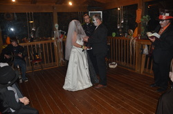 Day-of-the-Dead Themed Wedding Vow Renewal - Grandview Lodge in the ...